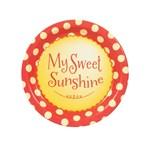 Little Sunshine Party Dessert Plates