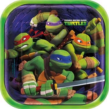 Nickelodeon Teenage Mutant Ninja Turtles Square Dinner Plates