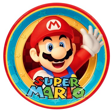 Super Mario Party Dinner Plates