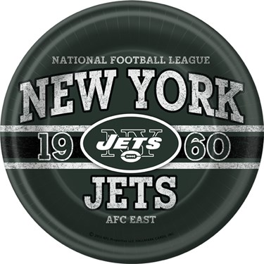 NFL New York Jets Dinner Plates