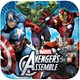 Default Image - Avengers Assemble Squared Dinner Plates