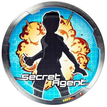 Secret Agent Dinner Plates