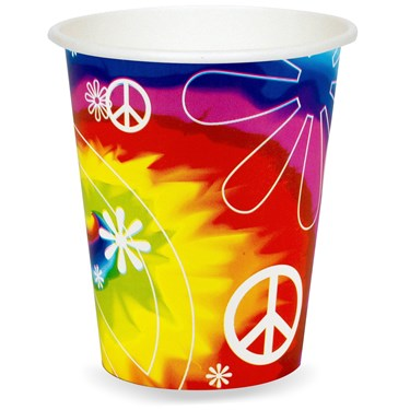 Tie Dye Fun 9 oz. Cups