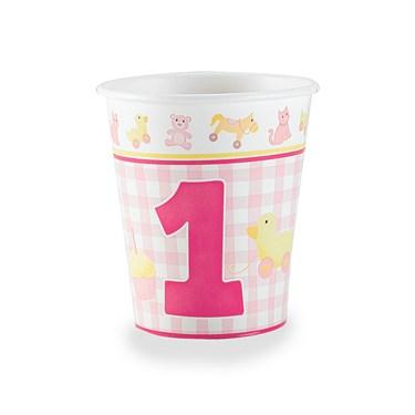Girl's Little 1 - 9 oz. Cups
