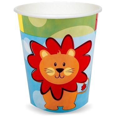 Safari Friends 9 oz. Paper Cups