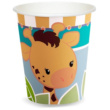 Giraffe 9 oz. Paper Cups