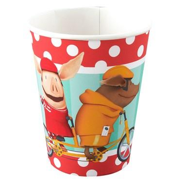 Olivia 9 oz. Paper Cups