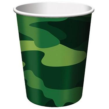 Camo Gear 9 oz. Paper Cups
