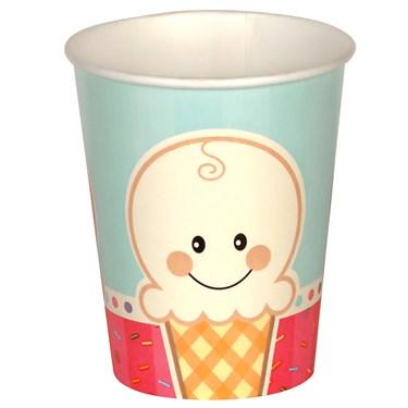 Ice Cream Sprinkles 9 oz. Paper Cups