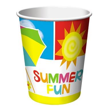 Summer Time Fun 9 oz. Paper Cups