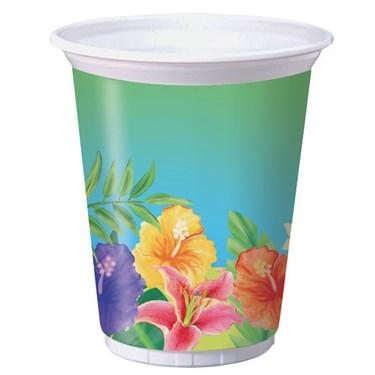 Hibiscus Heat 16 oz. Plastic Cups