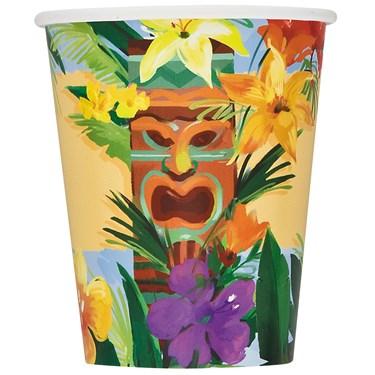 Tiki Tropics 9 oz. Cups
