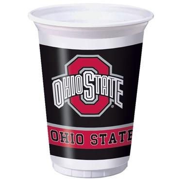 Ohio State Buckeyes 20 oz. Plastic Cups