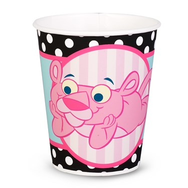 Baby Pink Panther 9 oz. Paper Cups