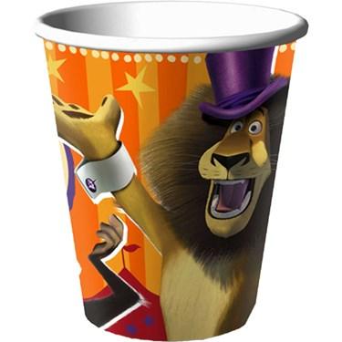 Madagascar 3 - 9 oz. Paper Cups