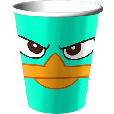 Disney Phineas and Ferb Agent P 9 oz. Paper Cups