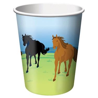 Wild Horses 9 oz. Paper Cups