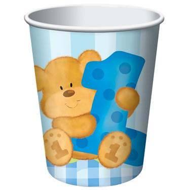 Bear's 1st Birthday Boy 9 oz. Paper Cups