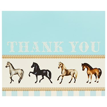 Ponies Thank-You Notes (8)