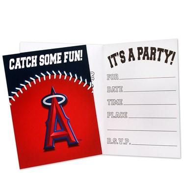 Los Angeles Angels Invitations