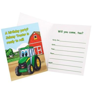 Johnny Tractor Invitations