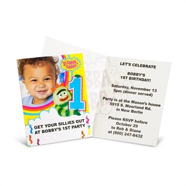 Yo Gabba Gabba! 1st Birthday - Personalized Invitations