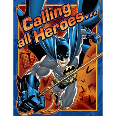 Batman Invitations (8)