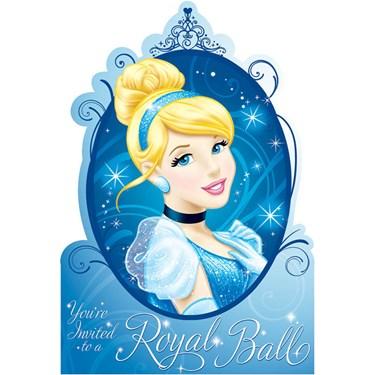 Disney Cinderella Sparkle Invitations
