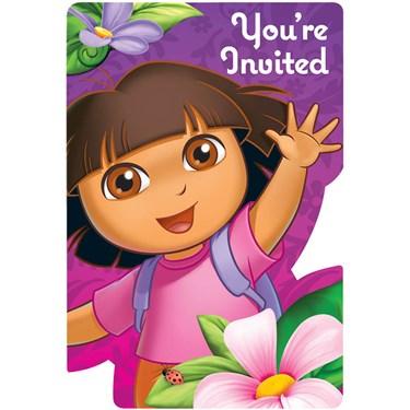 Dora's Flower Adventure Invitations