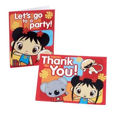 Ni Hao, Kai-Lan Invitation/Thank-You Postcards