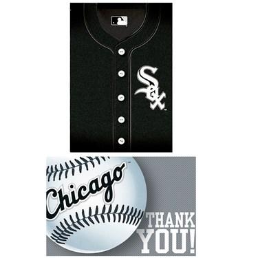 Chicago White Sox Baseball - Invite & Thank-You Combo