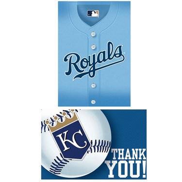 Kansas City Royals Baseball - Invite & Thank-You Combo