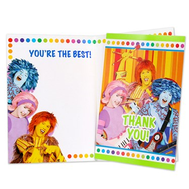 Doodlebops Thank-You Notes