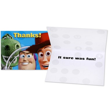 Disney Toy Story 3 Thank-You Notes