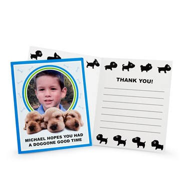 THE DOG Personalized Thank-You Notes