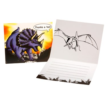 Dinosaur Thank-You Notes