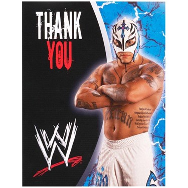 WWE Thank-You Notes