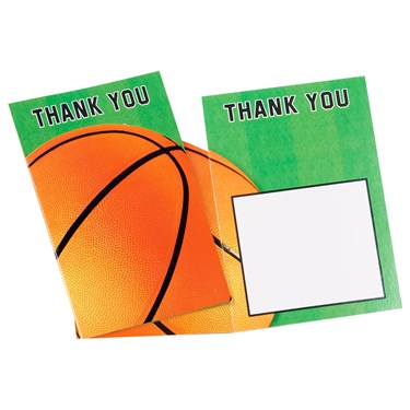 Basketball Fan - Thank-You Notes