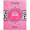 Diva Zebra Print Thank-You Notes