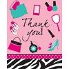 Pink Zebra Boutique Thank-You Notes