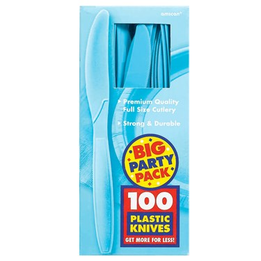 Caribbean Blue Big Party Pack - Knives