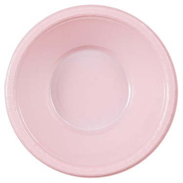 Classic Pink (Light Pink) Plastic Bowls
