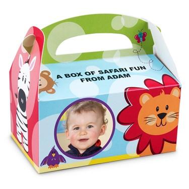 Safari Friends 1st Personalized Empty Boxes (8)