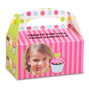 Sweet Treats Personalized Empty Favor Boxes