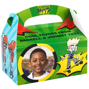 Johnny Test Personalized Empty Favor Boxes