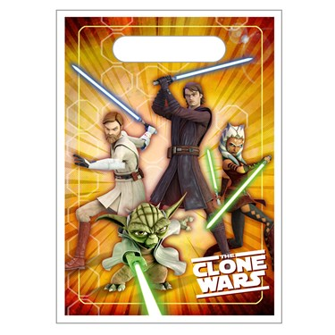 Star Wars: The Clone Wars Opposing Forces Treat Bags