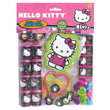 Hello Kitty Tween Party Favor Value Pack