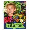 Nickelodeon Teenage Mutant Ninja Turtles - Personalized Thank-You Notes (8)