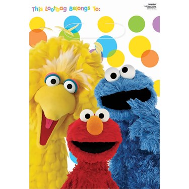 Sesame Street Party Treat Bags