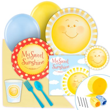 Little Sunshine Just Because Party Pack for 8